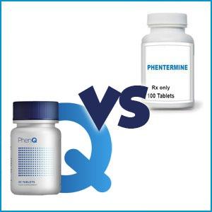 PhenQ vs Phentermine Pill